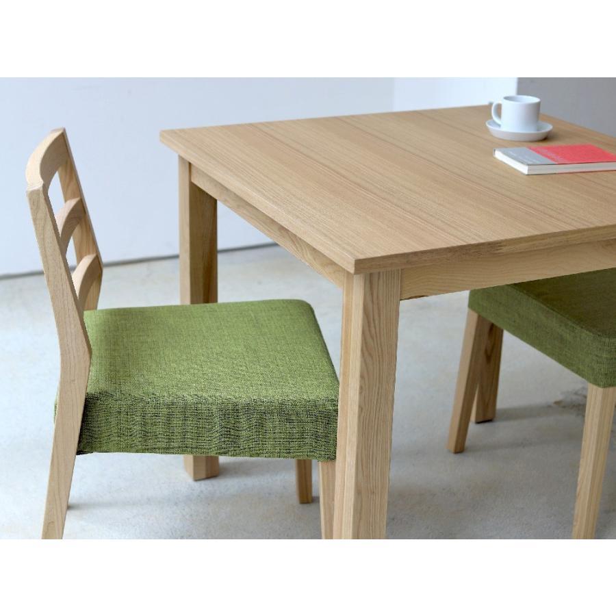 ダイニングテーブル アウトレット セール W800 80cm 2名用 ナチュラル ウォールナット アッシュ 木製 novo series ノヴォシリーズ|3244p|04