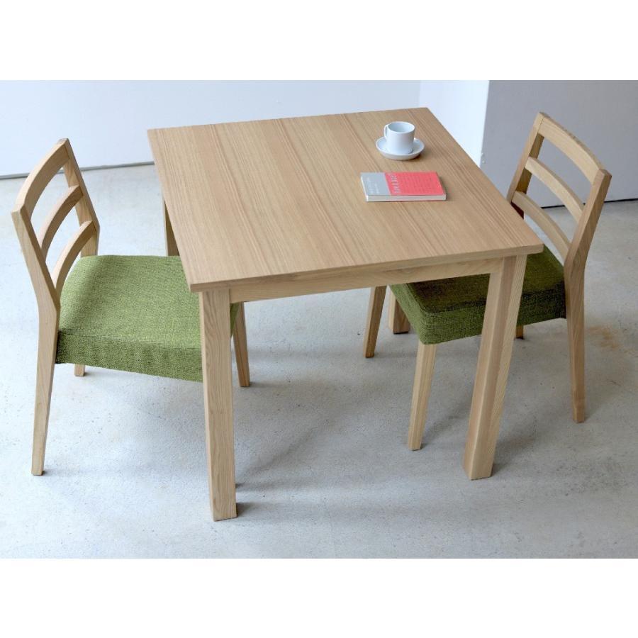ダイニングテーブル アウトレット セール W800 80cm 2名用 ナチュラル ウォールナット アッシュ 木製 novo series ノヴォシリーズ|3244p|05