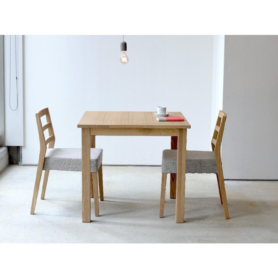 ダイニングテーブル アウトレット セール W800 80cm 2名用 ナチュラル ウォールナット アッシュ 木製 novo series ノヴォシリーズ|3244p|06