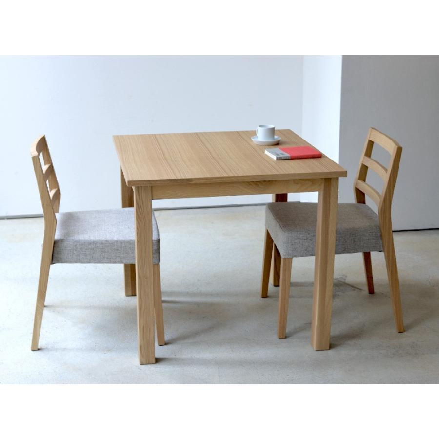 ダイニングテーブル アウトレット セール W800 80cm 2名用 ナチュラル ウォールナット アッシュ 木製 novo series ノヴォシリーズ|3244p|07
