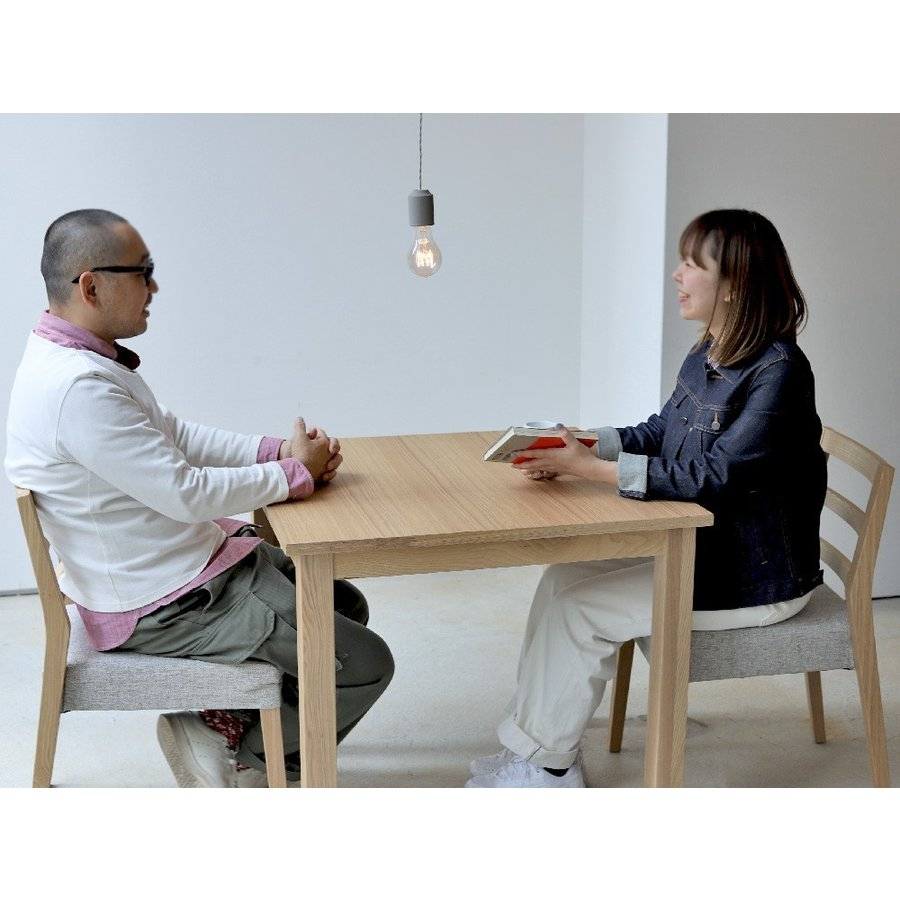 ダイニングテーブル アウトレット セール W800 80cm 2名用 ナチュラル ウォールナット アッシュ 木製 novo series ノヴォシリーズ|3244p|08
