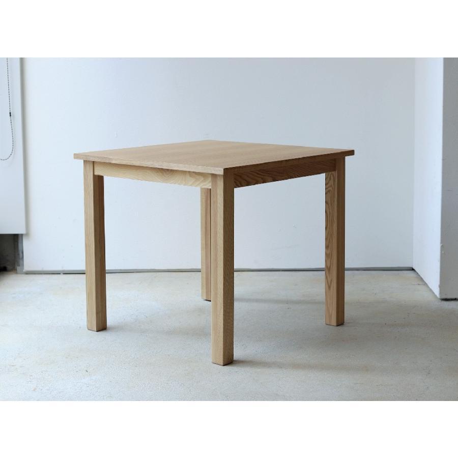 ダイニングテーブル アウトレット セール W800 80cm 2名用 ナチュラル ウォールナット アッシュ 木製 novo series ノヴォシリーズ|3244p|09