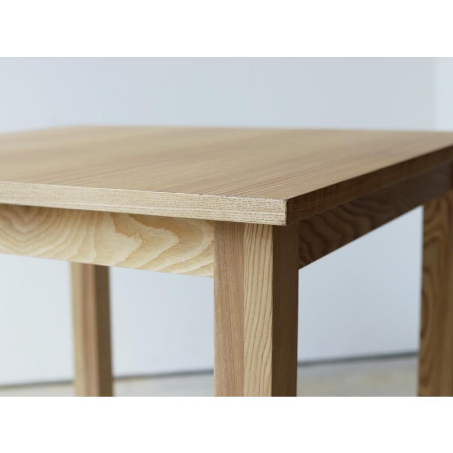 ダイニングテーブル アウトレット セール W800 80cm 2名用 ナチュラル ウォールナット アッシュ 木製 novo series ノヴォシリーズ|3244p|10