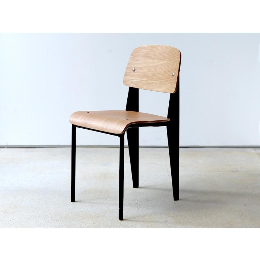 スタンダードチェア リプロダクト 椅子 イス Standard chair ジャン・プルーヴェ BK VA DP PG MTS-139|3244p|14