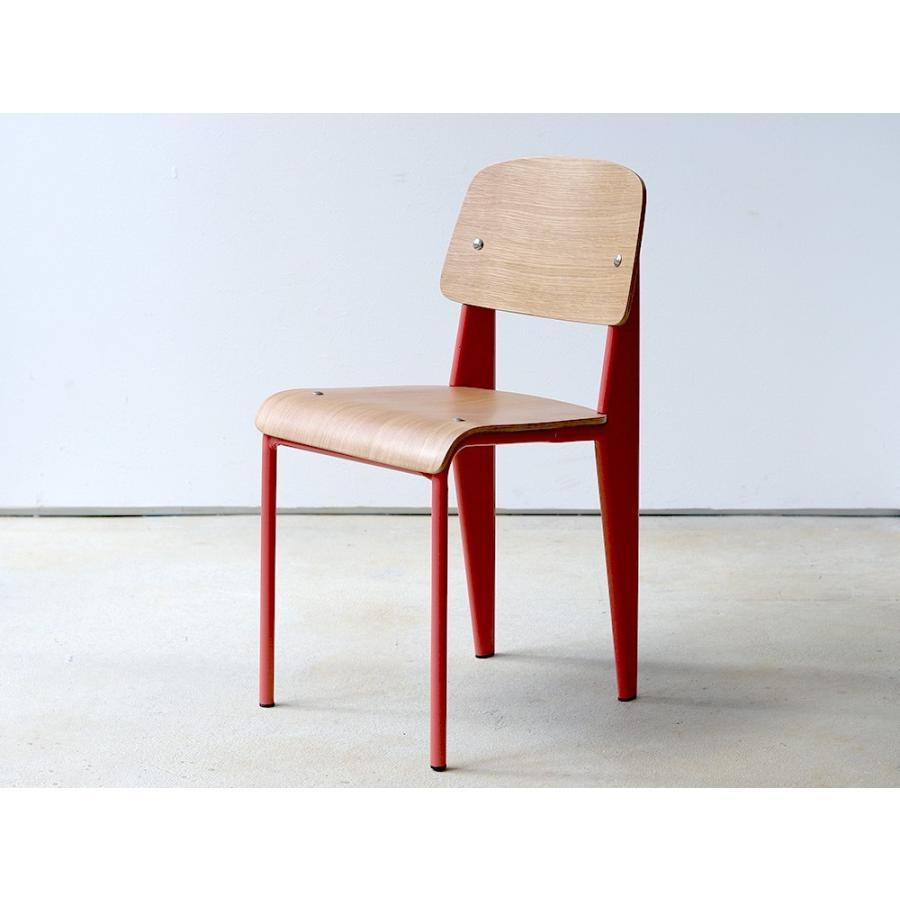 スタンダードチェア リプロダクト 椅子 イス Standard chair ジャン・プルーヴェ BK VA DP PG MTS-139|3244p|15