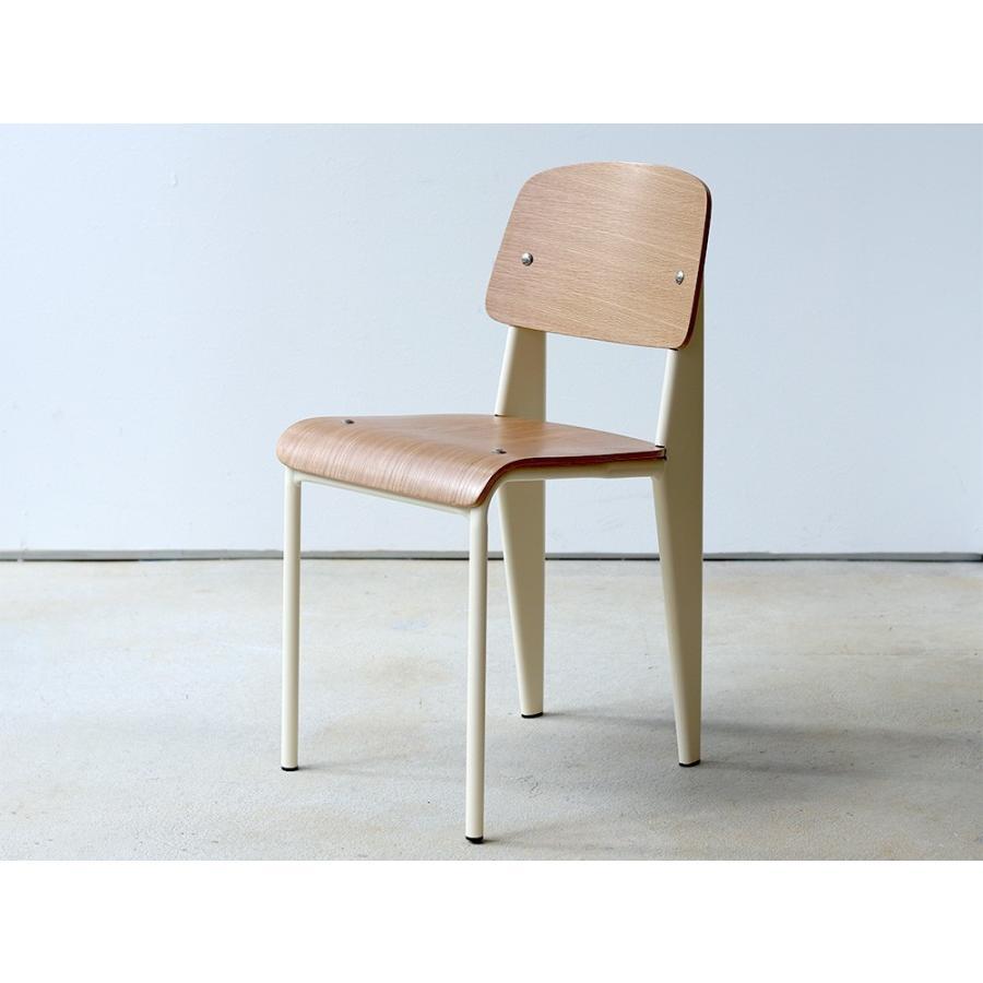 スタンダードチェア リプロダクト 椅子 イス Standard chair ジャン・プルーヴェ BK VA DP PG MTS-139|3244p|16