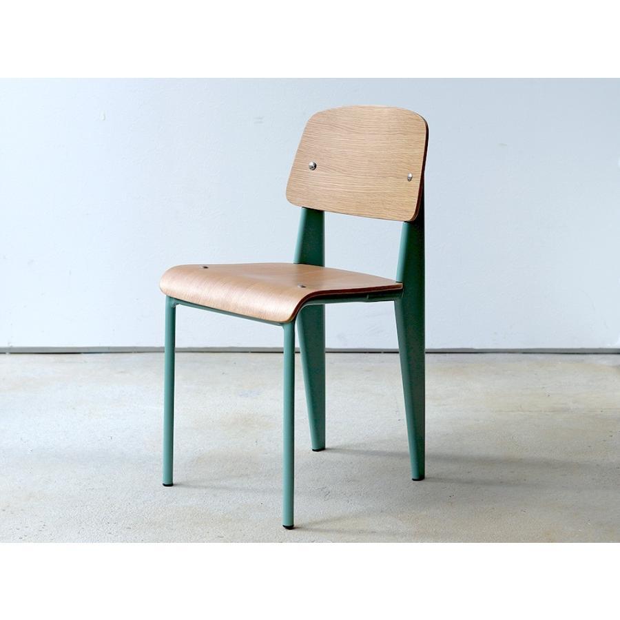 スタンダードチェア リプロダクト 椅子 イス Standard chair ジャン・プルーヴェ BK VA DP PG MTS-139|3244p|17