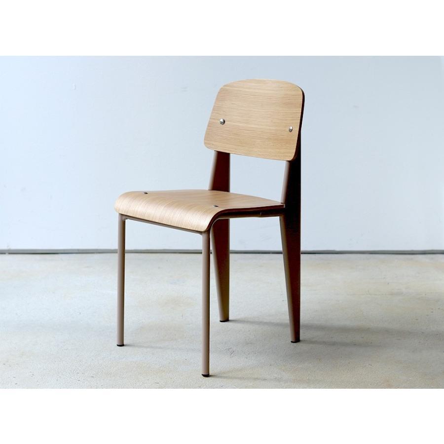 スタンダードチェア リプロダクト 椅子 イス Standard chair ジャン・プルーヴェ BK VA DP PG MTS-139|3244p|18