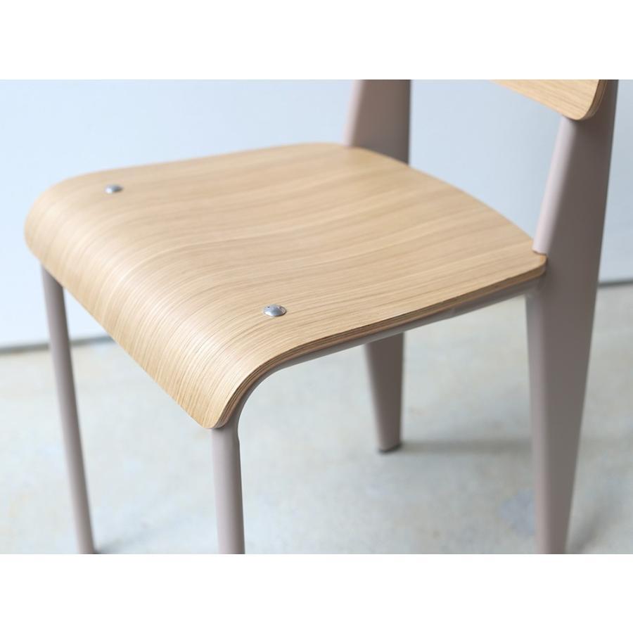 スタンダードチェア リプロダクト 椅子 イス Standard chair ジャン・プルーヴェ BK VA DP PG MTS-139|3244p|19