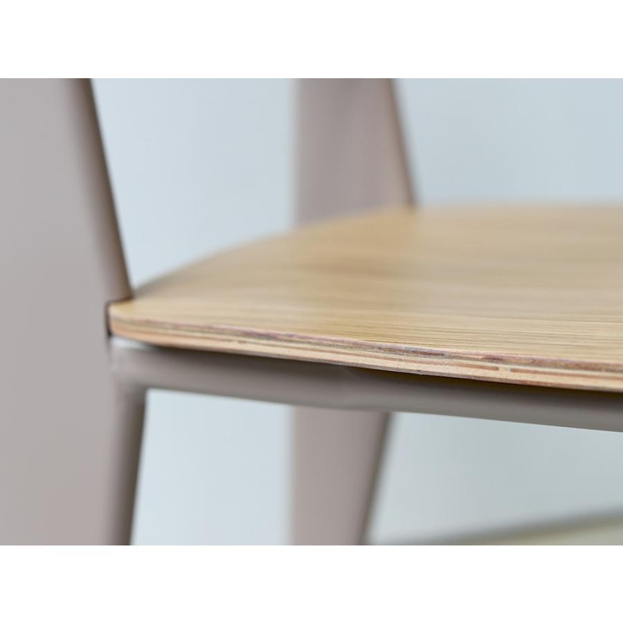 スタンダードチェア リプロダクト 椅子 イス Standard chair ジャン・プルーヴェ BK VA DP PG MTS-139|3244p|21