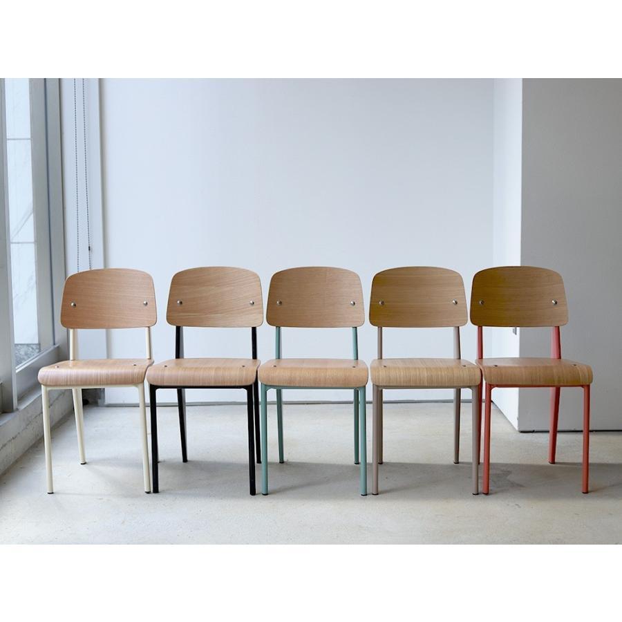 スタンダードチェア リプロダクト 椅子 イス Standard chair ジャン・プルーヴェ BK VA DP PG MTS-139|3244p|04