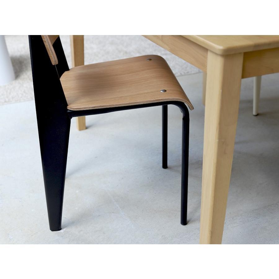 スタンダードチェア リプロダクト 椅子 イス Standard chair ジャン・プルーヴェ BK VA DP PG MTS-139|3244p|06