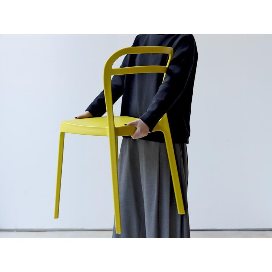 スタッキングチェア ステープル 椅子 イス チェア 積み重ねOK PP製 Staple chair YE BE GY BL オフィス 会議用チェア 会議室チェア カフェ MTS-143|3244p|02