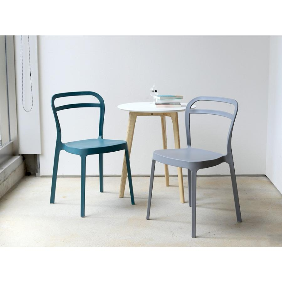 スタッキングチェア ステープル 椅子 イス チェア 積み重ねOK PP製 Staple chair YE BE GY BL オフィス 会議用チェア 会議室チェア カフェ MTS-143|3244p|11