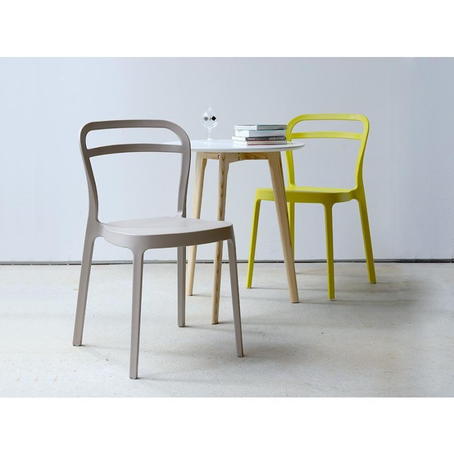 スタッキングチェア ステープル 椅子 イス チェア 積み重ねOK PP製 Staple chair YE BE GY BL オフィス 会議用チェア 会議室チェア カフェ MTS-143|3244p|13