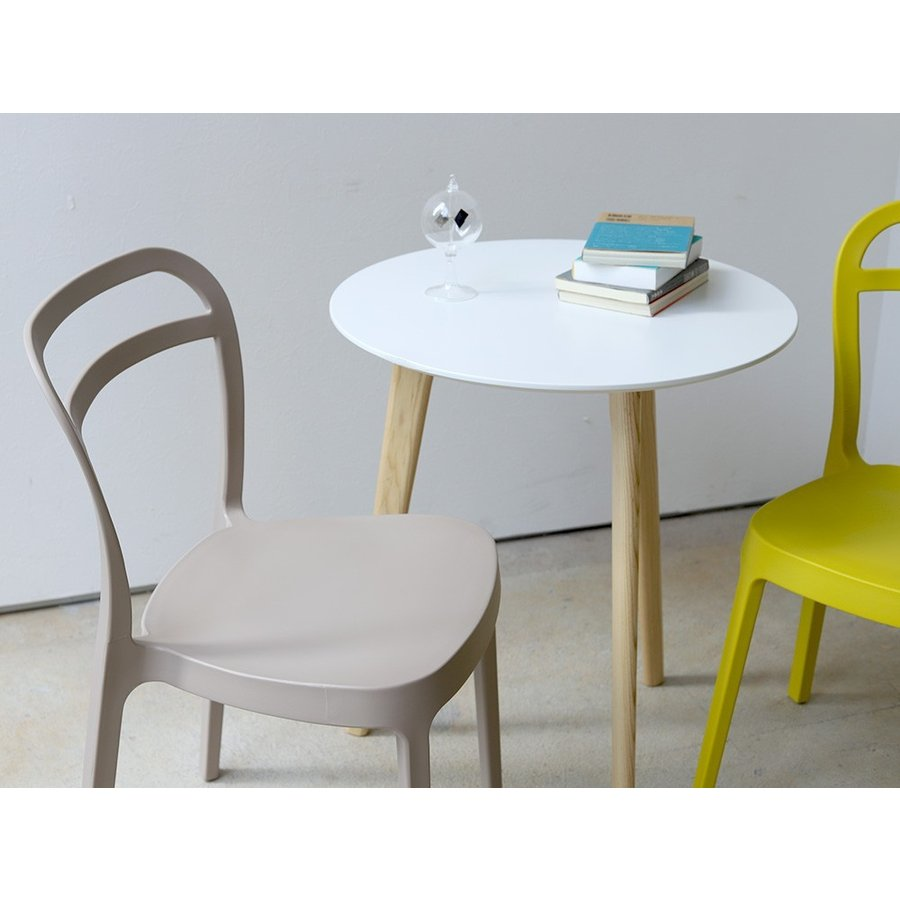 スタッキングチェア ステープル 椅子 イス チェア 積み重ねOK PP製 Staple chair YE BE GY BL オフィス 会議用チェア 会議室チェア カフェ MTS-143|3244p|14