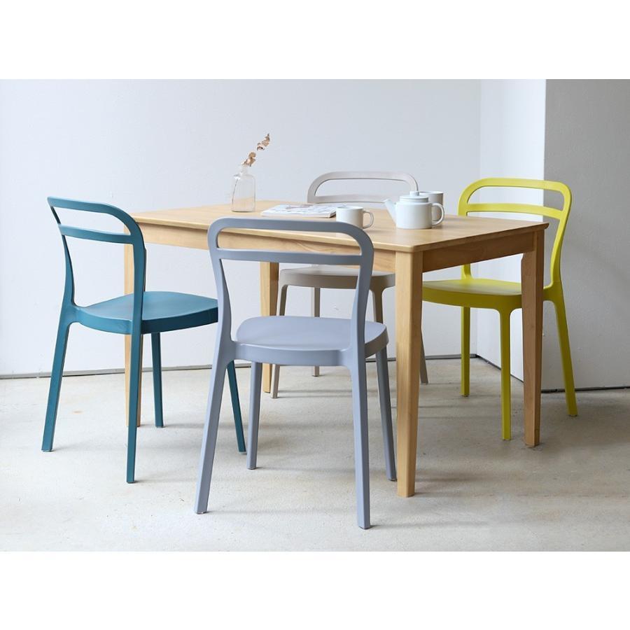 スタッキングチェア ステープル 椅子 イス チェア 積み重ねOK PP製 Staple chair YE BE GY BL オフィス 会議用チェア 会議室チェア カフェ MTS-143|3244p|07