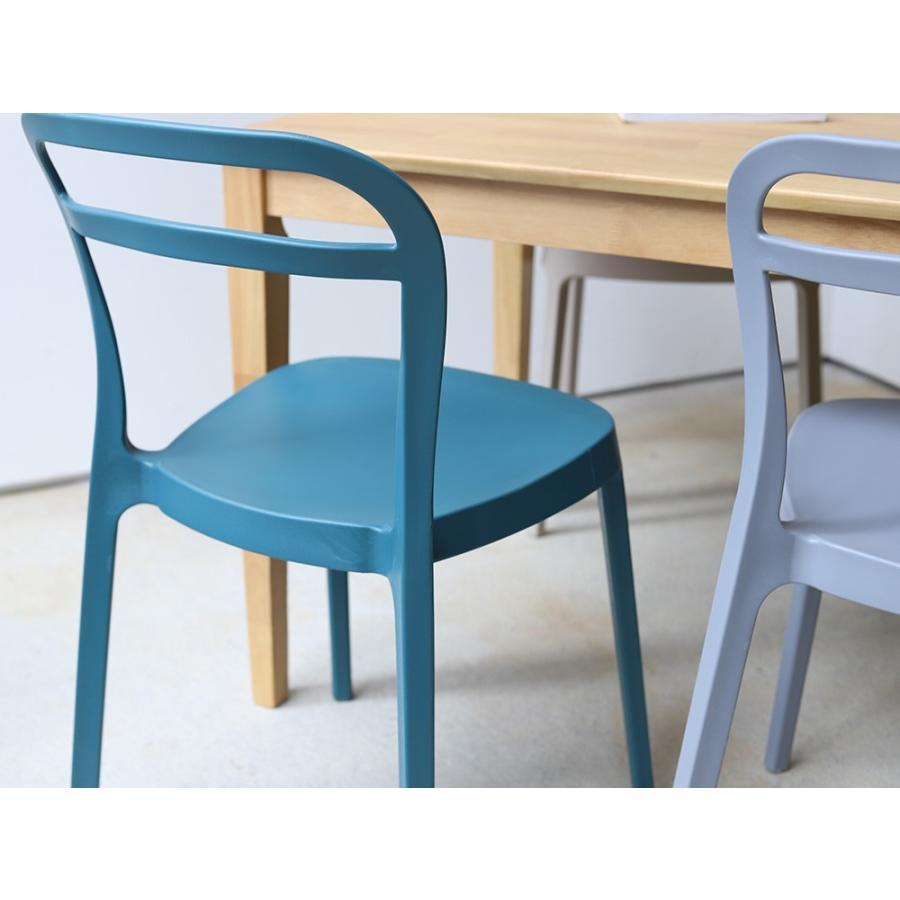 スタッキングチェア ステープル 椅子 イス チェア 積み重ねOK PP製 Staple chair YE BE GY BL オフィス 会議用チェア 会議室チェア カフェ MTS-143|3244p|08