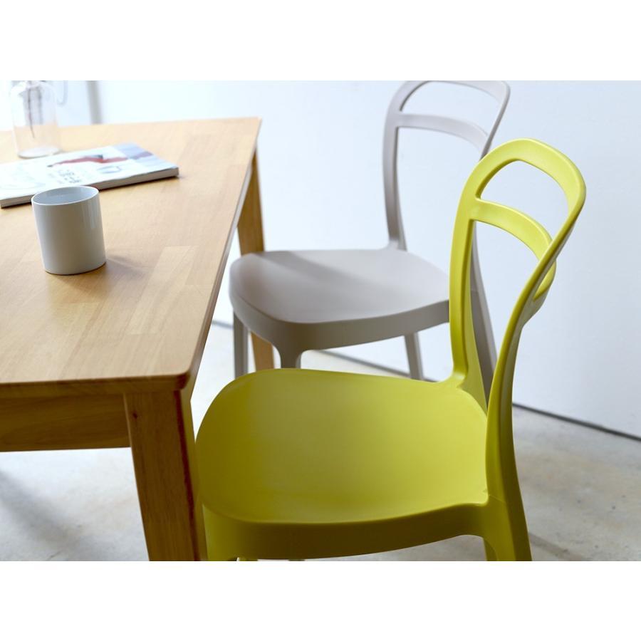 スタッキングチェア ステープル 椅子 イス チェア 積み重ねOK PP製 Staple chair YE BE GY BL オフィス 会議用チェア 会議室チェア カフェ MTS-143|3244p|09