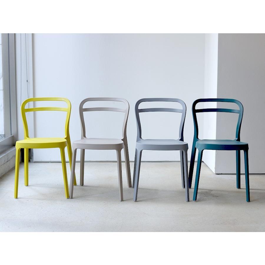 スタッキングチェア ステープル 椅子 イス チェア 積み重ねOK PP製 Staple chair YE BE GY BL オフィス 会議用チェア 会議室チェア カフェ MTS-143|3244p|10