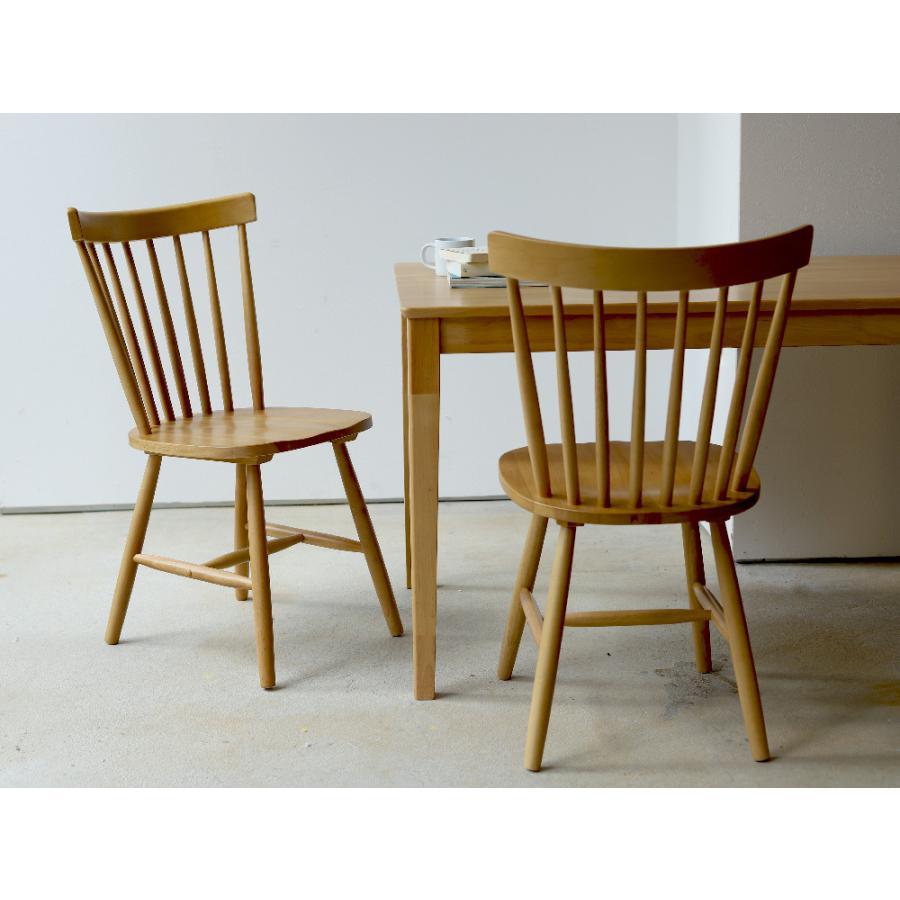 ダイニングチェア 椅子 いす イス 木製椅子 ラバーウッド 木製 ナチュラル ウォールナット ブラック ファンバック ウィンザーチェア風 MTS-152|3244p|12
