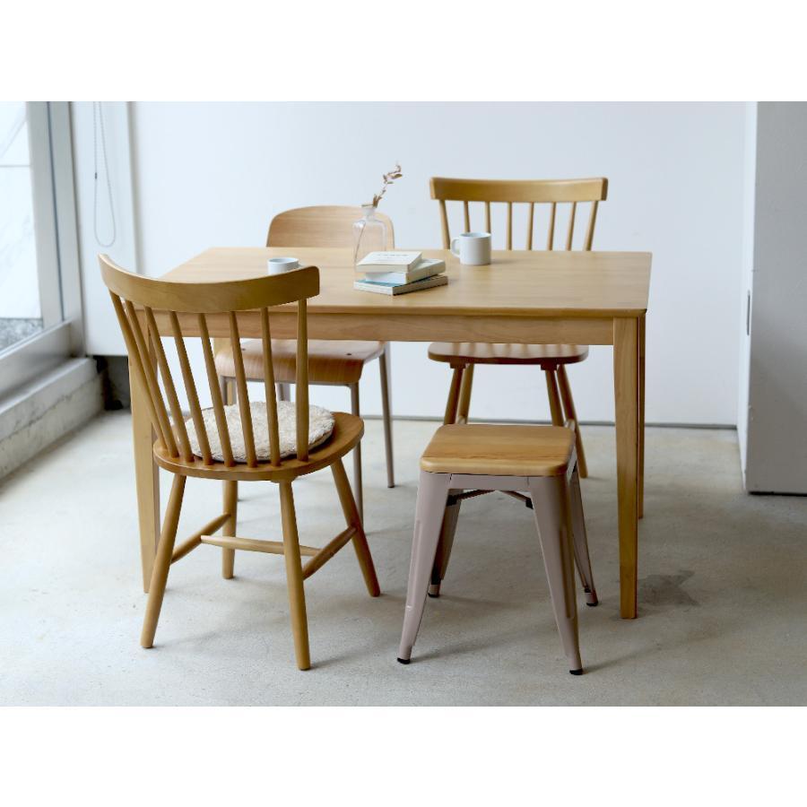 ダイニングチェア 椅子 いす イス 木製椅子 ラバーウッド 木製 ナチュラル ウォールナット ブラック ファンバック ウィンザーチェア風 MTS-152|3244p|14