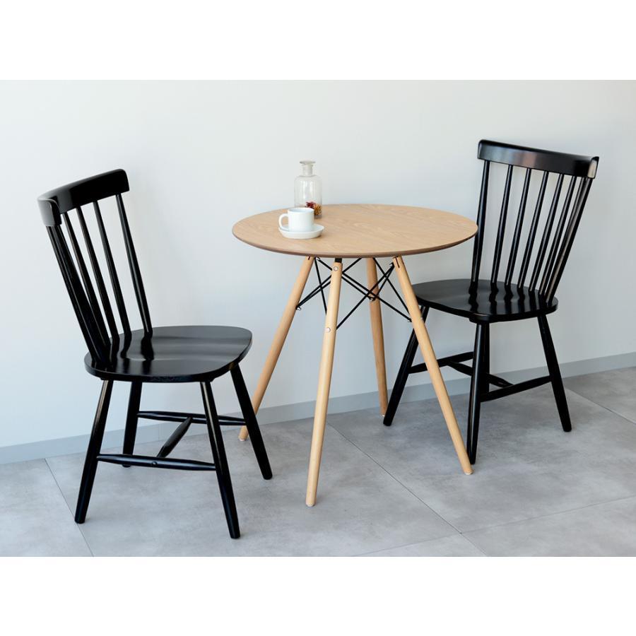 ダイニングチェア 椅子 いす イス 木製椅子 ラバーウッド 木製 ナチュラル ウォールナット ブラック ファンバック ウィンザーチェア風 MTS-152|3244p|15