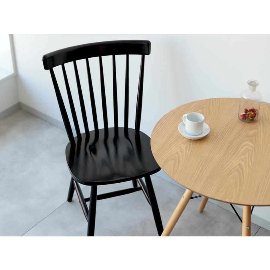ダイニングチェア 椅子 いす イス 木製椅子 ラバーウッド 木製 ナチュラル ウォールナット ブラック ファンバック ウィンザーチェア風 MTS-152|3244p|16