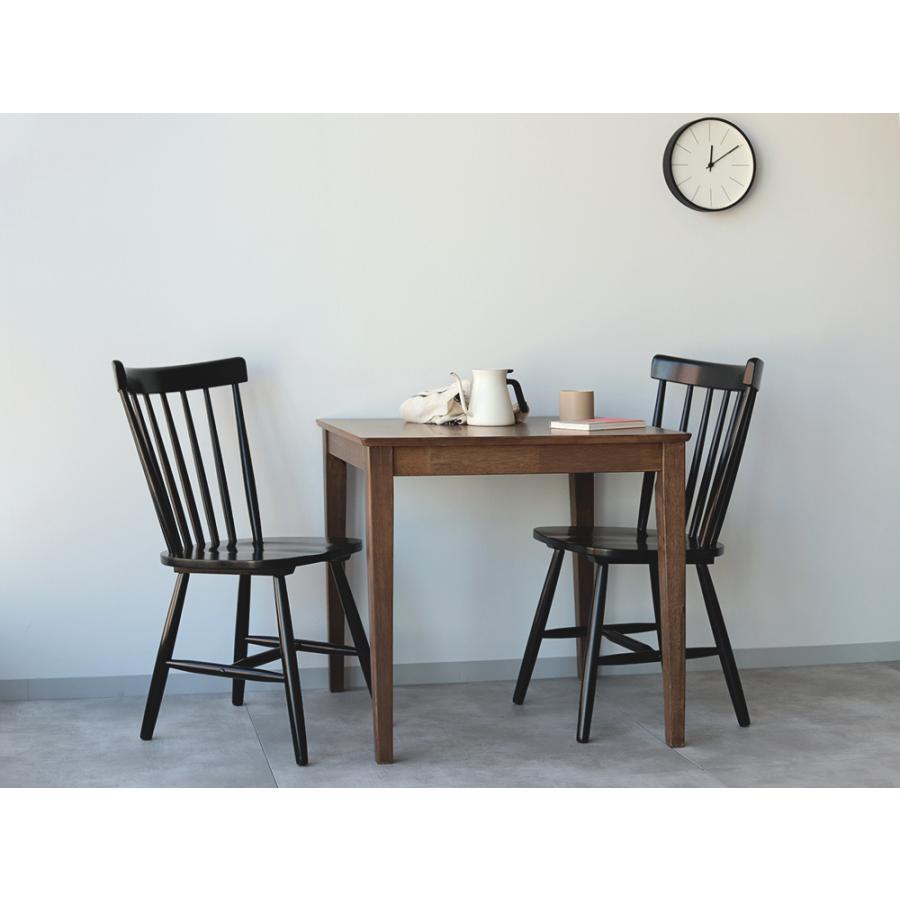 ダイニングチェア 椅子 いす イス 木製椅子 ラバーウッド 木製 ナチュラル ウォールナット ブラック ファンバック ウィンザーチェア風 MTS-152|3244p|18