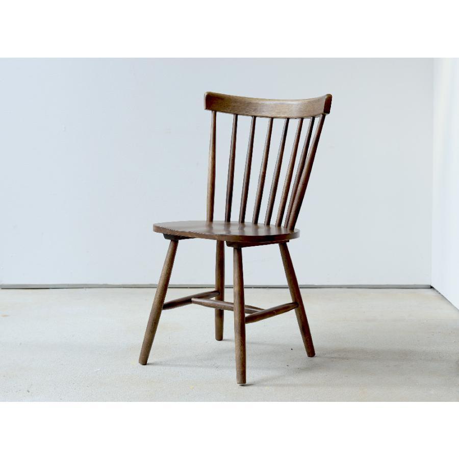 ダイニングチェア 椅子 いす イス 木製椅子 ラバーウッド 木製 ナチュラル ウォールナット ブラック ファンバック ウィンザーチェア風 MTS-152|3244p|19