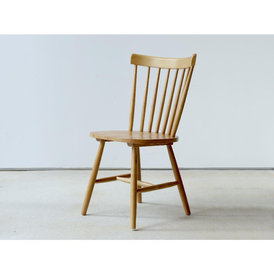 ダイニングチェア 椅子 いす イス 木製椅子 ラバーウッド 木製 ナチュラル ウォールナット ブラック ファンバック ウィンザーチェア風 MTS-152|3244p|20