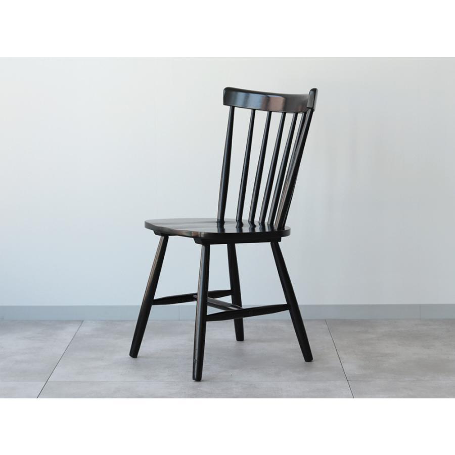 ダイニングチェア 椅子 いす イス 木製椅子 ラバーウッド 木製 ナチュラル ウォールナット ブラック ファンバック ウィンザーチェア風 MTS-152|3244p|21