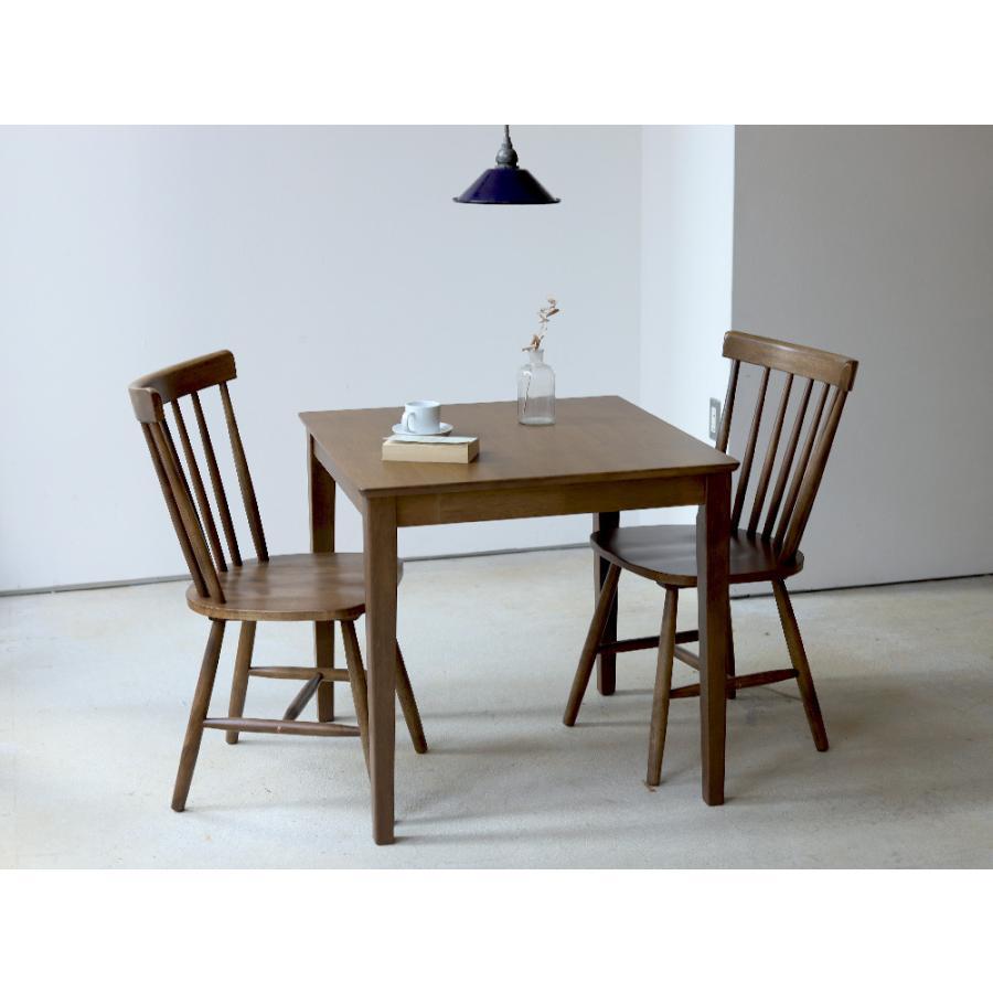 ダイニングチェア 椅子 いす イス 木製椅子 ラバーウッド 木製 ナチュラル ウォールナット ブラック ファンバック ウィンザーチェア風 MTS-152|3244p|07