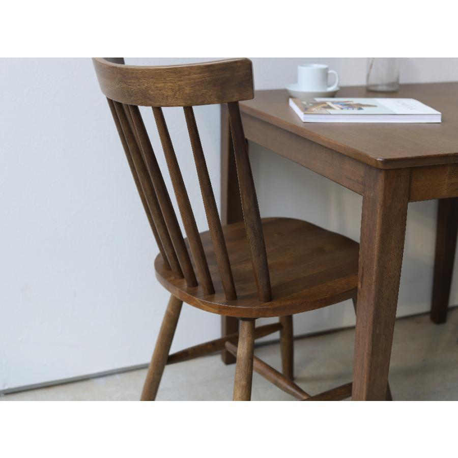ダイニングチェア 椅子 いす イス 木製椅子 ラバーウッド 木製 ナチュラル ウォールナット ブラック ファンバック ウィンザーチェア風 MTS-152|3244p|09