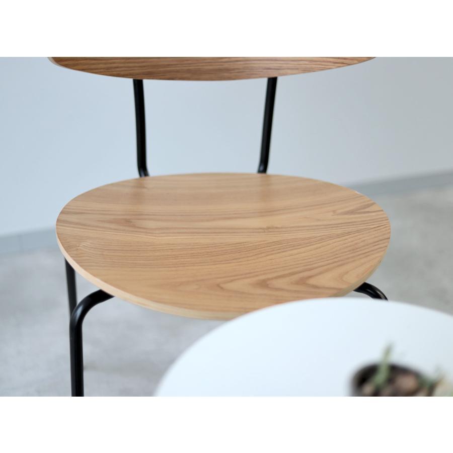 ダイニングチェア アイアン ウッド 木製チェア イス 椅子 スタッキングチェア アッシュ タモ ナチュラル ウォールナット 【数量限定セール】|3244p|15