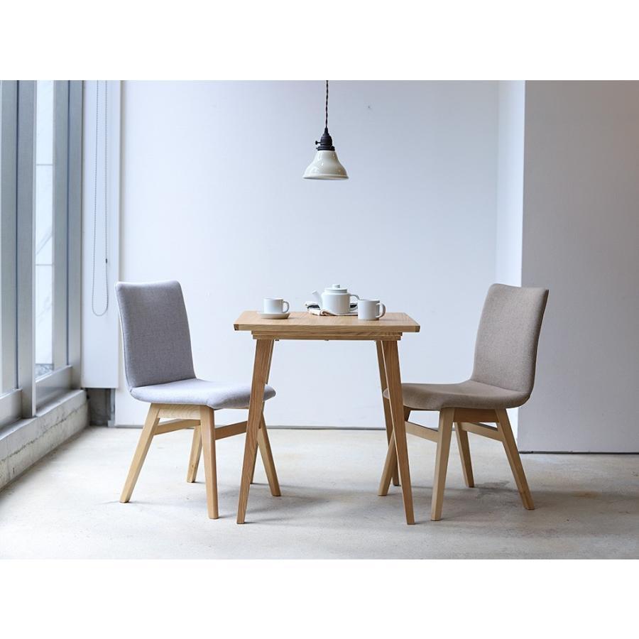 ダイニングチェア 椅子 イス チェア 布張り グレー ベージュ ライトブルー GY BE LB 北欧 HOC-711|3244p|02