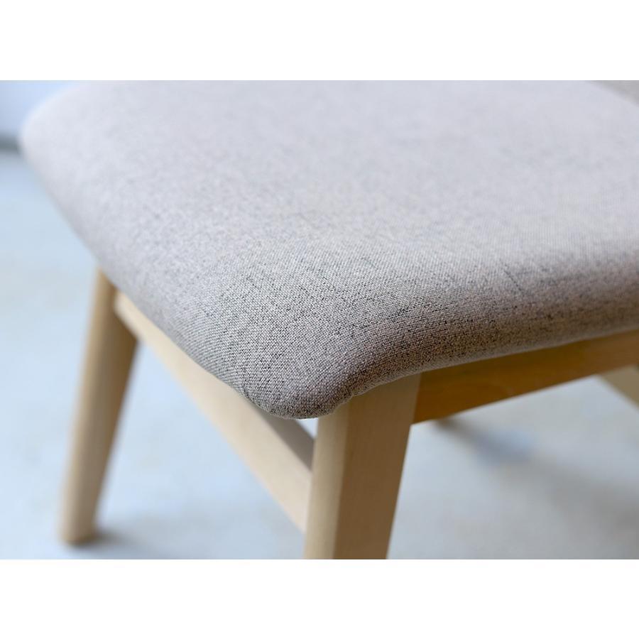 ダイニングチェア 椅子 イス チェア 布張り グレー ベージュ ライトブルー GY BE LB 北欧 HOC-711|3244p|12