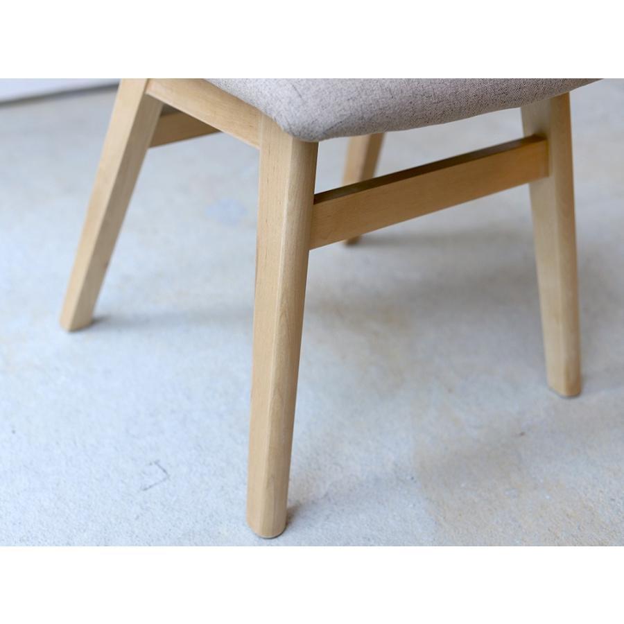 ダイニングチェア 椅子 イス チェア 布張り グレー ベージュ ライトブルー GY BE LB 北欧 HOC-711|3244p|13