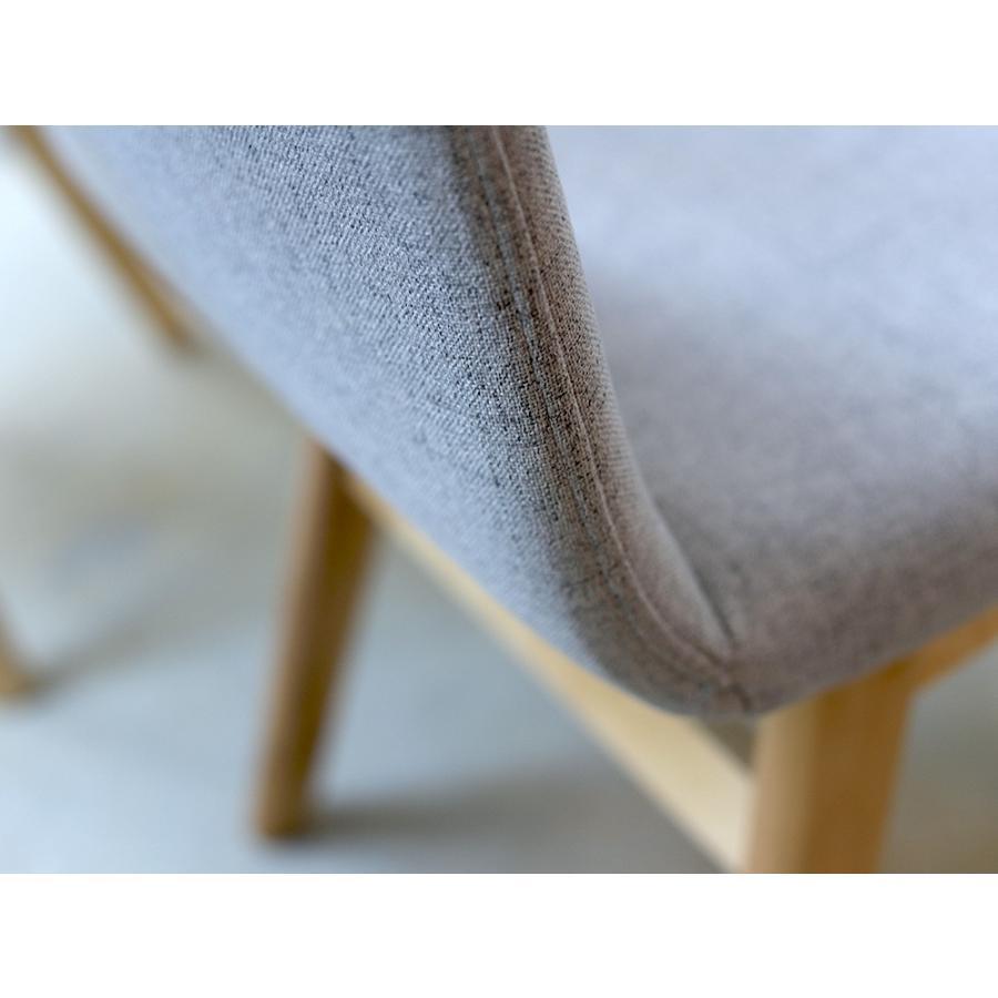 ダイニングチェア 椅子 イス チェア 布張り グレー ベージュ ライトブルー GY BE LB 北欧 HOC-711|3244p|15