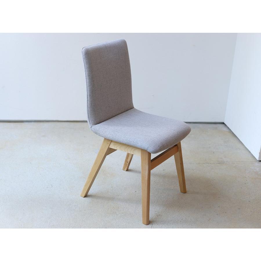 ダイニングチェア 椅子 イス チェア 布張り グレー ベージュ ライトブルー GY BE LB 北欧 HOC-711|3244p|16