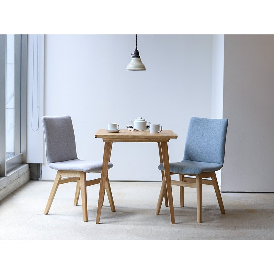 ダイニングチェア 椅子 イス チェア 布張り グレー ベージュ ライトブルー GY BE LB 北欧 HOC-711|3244p|03