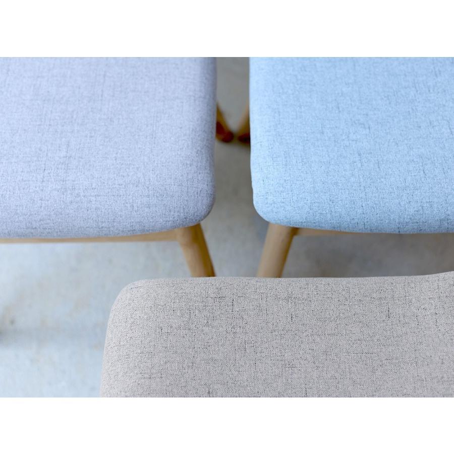 ダイニングチェア 椅子 イス チェア 布張り グレー ベージュ ライトブルー GY BE LB 北欧 HOC-711|3244p|05