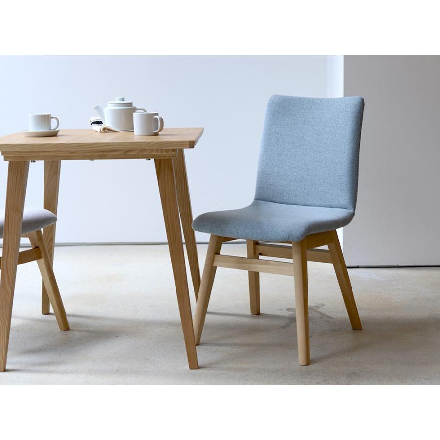 ダイニングチェア 椅子 イス チェア 布張り グレー ベージュ ライトブルー GY BE LB 北欧 HOC-711|3244p|07