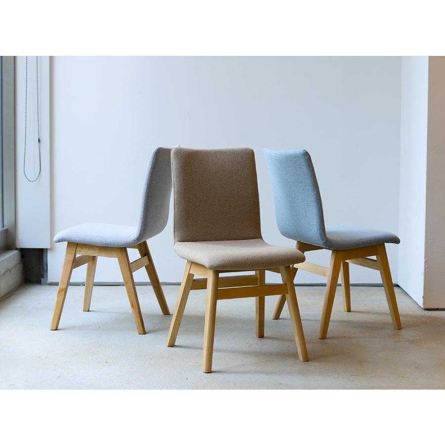 ダイニングチェア 椅子 イス チェア 布張り グレー ベージュ ライトブルー GY BE LB 北欧 HOC-711|3244p|10