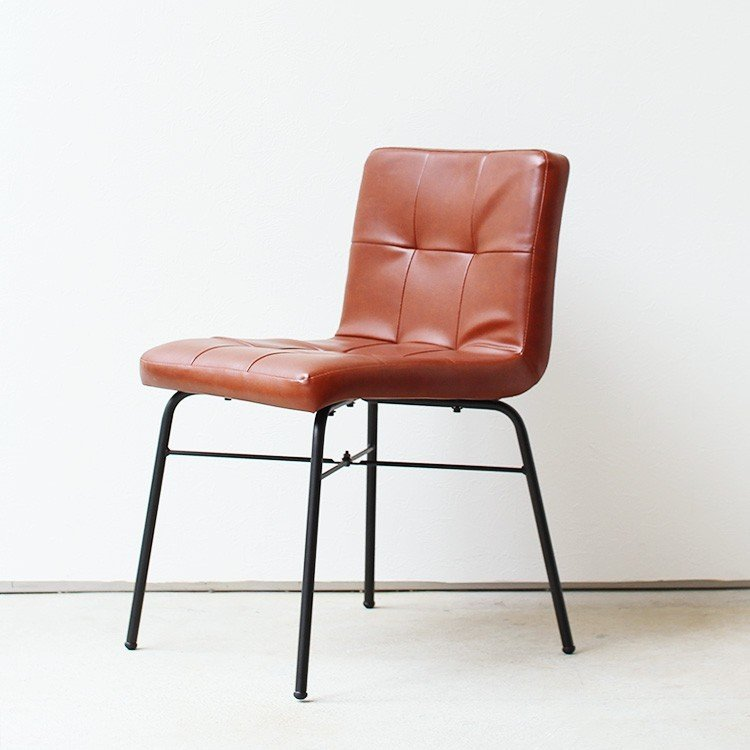 anthem 椅子 チェア Chair アンセム ダイニングチェア ANC-2552BR シンプルモダン カフェ風 パソコンチェア レトロ デスクチェア コンパクト|3244p