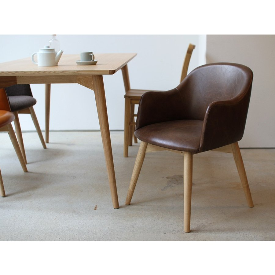 カラメリダイニングチェア 椅子 KRM-010 DB CA Karameri dining chair 東谷 room essence|3244p|02