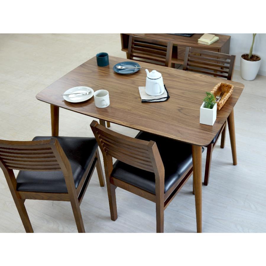 ダイニングテーブル トムテ 2〜4名用 木製 TAC-242WAL W120cm 東谷(azumaya) tomte 3244p 14