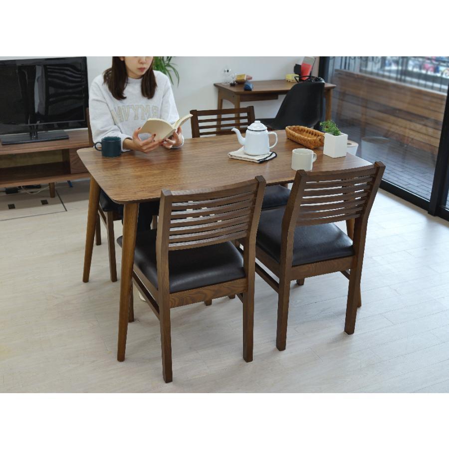 ダイニングテーブル トムテ 2〜4名用 木製 TAC-242WAL W120cm 東谷(azumaya) tomte 3244p 17