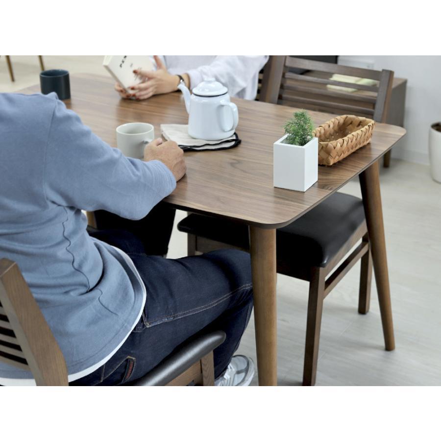 ダイニングテーブル トムテ 2〜4名用 木製 TAC-242WAL W120cm 東谷(azumaya) tomte 3244p 03