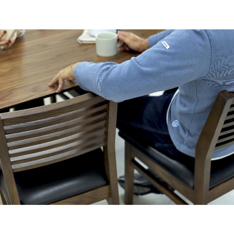 ダイニングテーブル トムテ 2〜4名用 木製 TAC-242WAL W120cm 東谷(azumaya) tomte 3244p 04